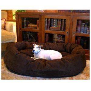 Best Dog Beds - Majestic Pet Suede Bagel Dog Bed