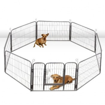 Oxgord Dog Animal Heavy Duty Playpen - Dog playpen