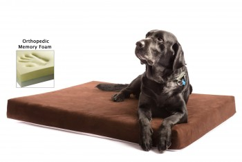 The Smokey Dog Co. Orthopedic Memory Foam Dog Bed Review- Best Orthopedic Dog Beds 1