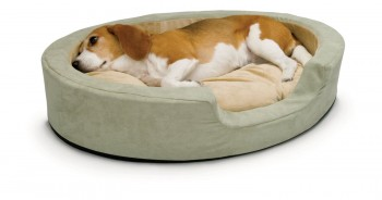 Thermo-Snuggly Sleeper - Best Heated Orthopedic Dog Bed