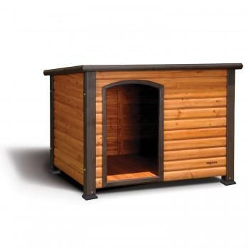 Precision Pet Outback Log Exterior Dog House - Best Dog House