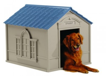 Suncast Large Deluxe Dog House - Best Dog House 2