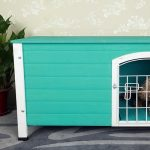 """Petsfit 31""""Lx21""""Wx21""""H Indoor Dog House Wooden With Door For Small Dog Review"""