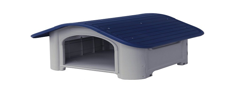 ALEKO® DH23X29X26PL Plastic Dog Kennel Pet House 23 X 29 X 26 Inches Review