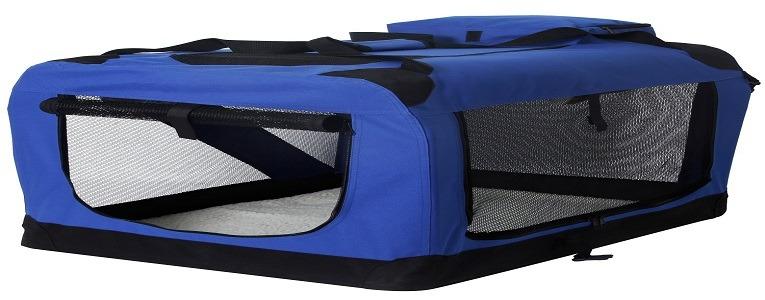 Gocooper Dog Travel Crate,3-Door Folding Soft Dog Crates & Kennels 32″ x 23″ x 23″Pet Portable Home Indoor & Outdoor Review