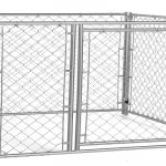 Lucky Dog Modular Chain Link Kennel, 6' by 5' by 5' Review