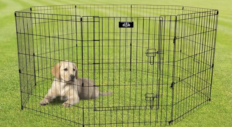 "PETMAKER 58"" x 60""X 30"" Exercise Playpen Review"