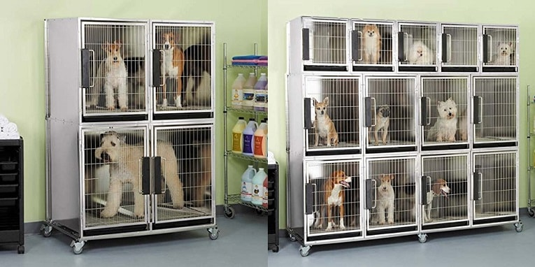 Proselect ZW5620 03 Modular Kennel Cage Bank Review