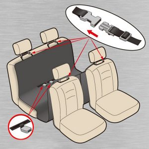 Acecharming Waterproof Trunk Car Cargo Liner Rear Back Pet Seat Non Slip Cover Review 2