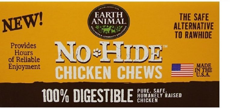 "Earth Animal No-Hide Chicken Chews 4"" 24-Pack Review"