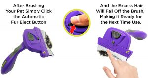 Self-Cleaning Deshedding Tool with Unique Curved Comb by Hertzko Review