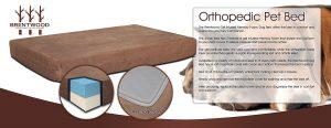 Brentwood 4-Inch Gel Memory Foam Orthopedic Dog Bed, 100-Percent Waterproof Review