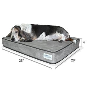 New! PetFusion SerenityLounge Dog Bed Review