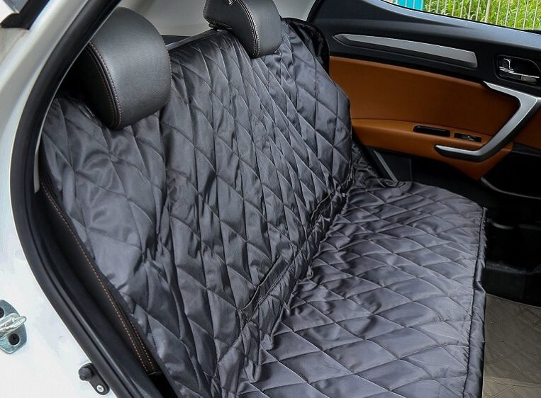 iCode Dog Car Seat Cover & Pet Travel Hammock with Durable Super Soft Heavy Gauge Waterproof Fabric for Car Truck SUV-Black Review