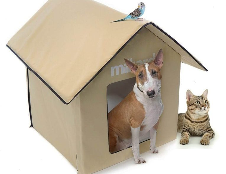 Milliard Outdoor Pet House, Easy Set Up: No Tools, for Dog or Cats; Perfect Bed Cave or Shelter, 24 x 24 x 30 in Review
