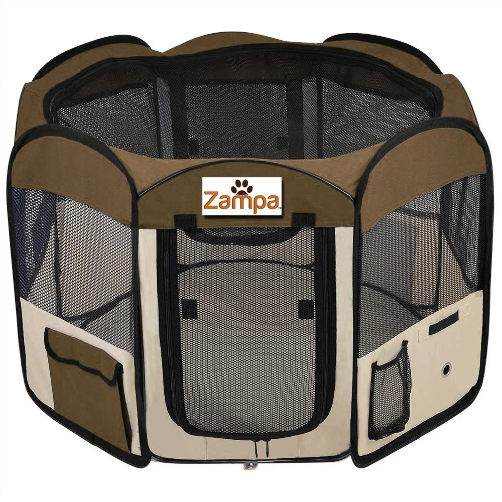 Zampa Dog Octagon Playpen Review