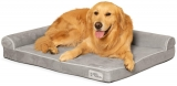 PetFusion BetterLounge Dog Bed with WATERPROOF foam liner and washable cover